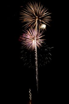 Free Beautiful Fireworks. Stock Images - 5651884