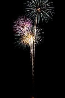 Free Beautiful Fireworks. Royalty Free Stock Image - 5651956