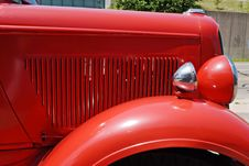 Free Antique Fire Engine Detail Stock Image - 5654101