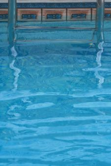 Free Pool Steps Stock Image - 5654601