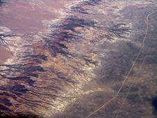 Free Mountain Between Deserts Royalty Free Stock Photo - 5654635