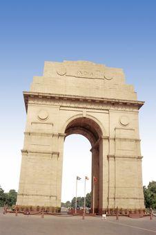 India Gate Stock Image