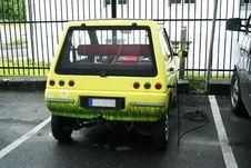 Free Ecology Car - Electromobile Stock Image - 5654991