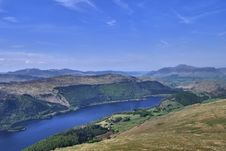 Free Northern End Of Thirlmere Royalty Free Stock Photos - 5654998