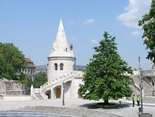Free Fishermen Bastion In Budapest Stock Photos - 5655383