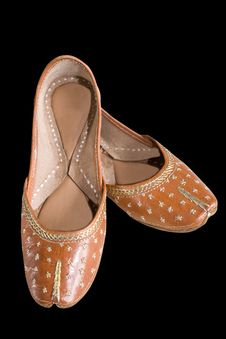 Free Indian Shoes Clipping Path Royalty Free Stock Photography - 5655507