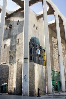 Free Tel Aviv, The Great Synagogue Royalty Free Stock Photos - 5655648