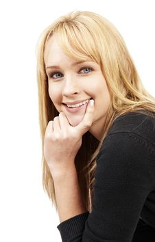 Free Beautiful Blonde Woman Royalty Free Stock Images - 5655829