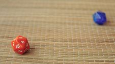 Free Two Dices Stock Photography - 5655922