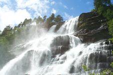 Free Waterfall Under The Shining Sun Stock Photo - 5655930