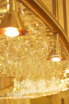 Free Glasses In The Bar Royalty Free Stock Photography - 5656157