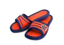 Free Home Slippers Royalty Free Stock Photo - 5656275