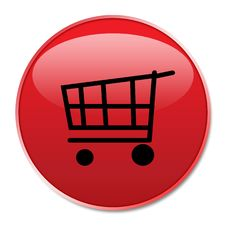 Free Web Shopping Button Royalty Free Stock Photo - 5656825