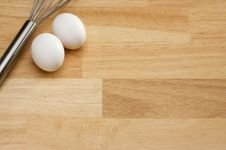 Free Whisk And Eggs Royalty Free Stock Photo - 5656955