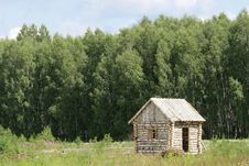 Free Birch Small House Royalty Free Stock Photos - 5657098