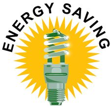 Free Light Bulb CFL Energy Saving Stock Image - 5658261