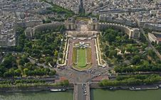 Free Trocadero From Tour Eiffel Stock Image - 5659201