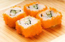 Free California Futomaki Sushi Stock Image - 5659231