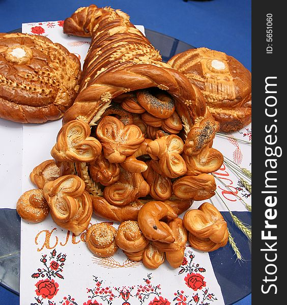 Estive Bread Horn of Plenty 1