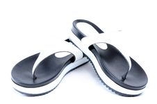 Free Leather Flip Flops Royalty Free Stock Photos - 56572138