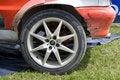 Free Wheel Of The Rally Car Stock Photo - 5665380
