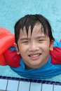 Free Boy At The Pool Royalty Free Stock Photo - 5668755