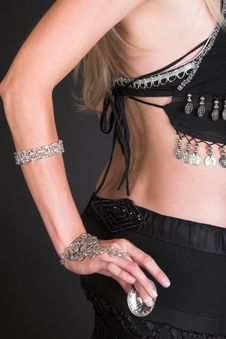 Free Belly Dancer Back Royalty Free Stock Photos - 5660538