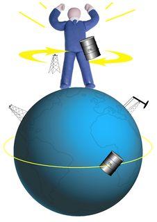 Free Oil Power Stock Photo - 5660580