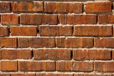 Free Bright Orange Bricks Stock Images - 5660734