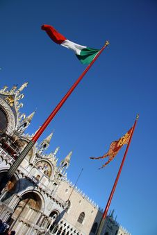 Saint Mark Cathedral, Venice Royalty Free Stock Photography