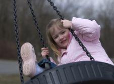 Free Girl Swinging Stock Images - 5661814