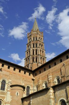 Free Belfry Saint-Sernin Royalty Free Stock Photo - 5661845