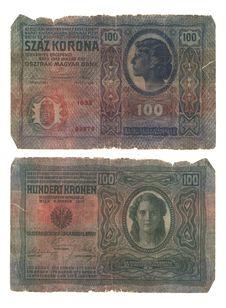 Hungarian Banknote Stock Image