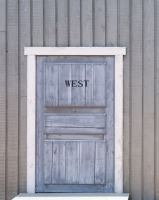 Free Door Of The Wooden House Stock Photo - 5662100