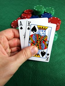 Free To Take A Gamble Royalty Free Stock Images - 5662199
