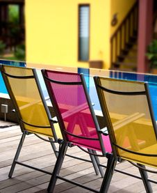 Free Deckchairs, Royalty Free Stock Photo - 5662965