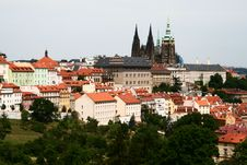 Free Prague Castle Royalty Free Stock Photos - 5663318