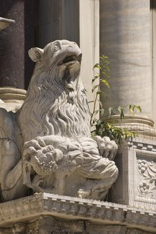 Free Gargoyle On Side Of Basilica Di San Marco Royalty Free Stock Photo - 5663875