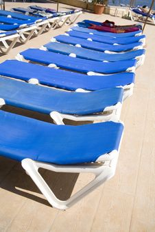 Free Deck-chairs Royalty Free Stock Images - 5664049
