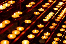 Free Candles Royalty Free Stock Photo - 5664335