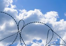 Free Barbed Wire Stock Image - 5664451
