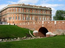 Free Palace In Tsaritsyno Park, Moscow Stock Images - 5664504