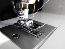 Free Silver Sewing Foot Stock Photos - 5664643