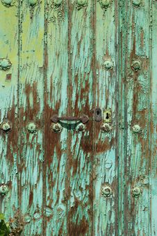 Free Old Door Royalty Free Stock Photo - 5664815