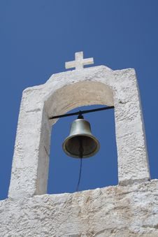 Greek Church Bell Royalty Free Stock Photos