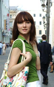 Free Girl, Turning Round Royalty Free Stock Image - 5664976
