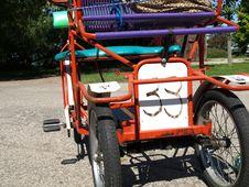 Free Four-Wheeled Bike Taxi Stock Photo - 5666230