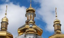 Free Golden Cupola Royalty Free Stock Image - 5666276