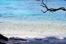Caribbean Beach Hideaway Royalty Free Stock Photo