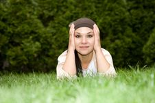 Free Relaxing Woman Royalty Free Stock Photos - 5667528